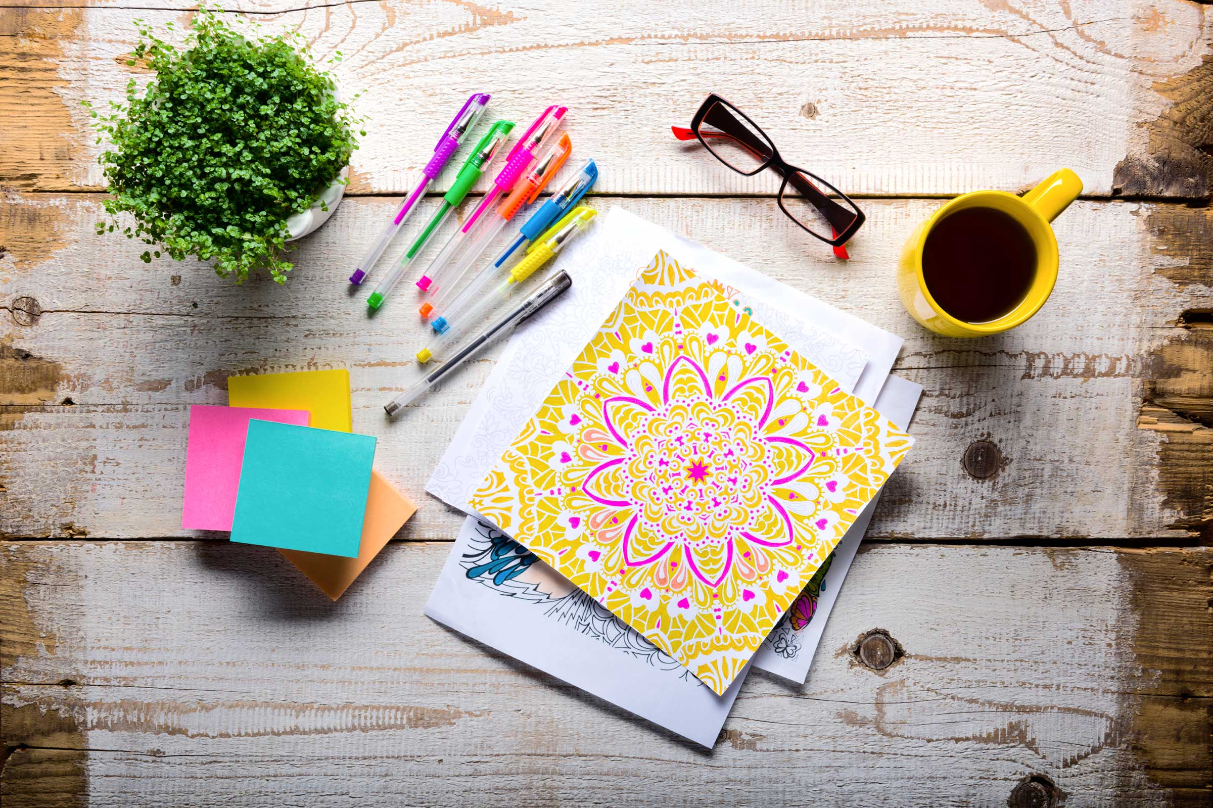 Benefits of Coloring for Adults | Fitness Galore