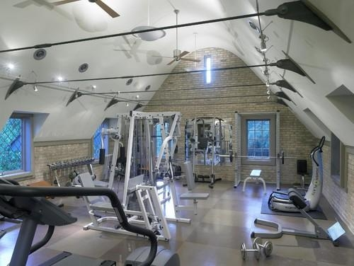 Coolest home gyms fitness galore